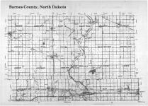 Index Map, Barnes County 1987